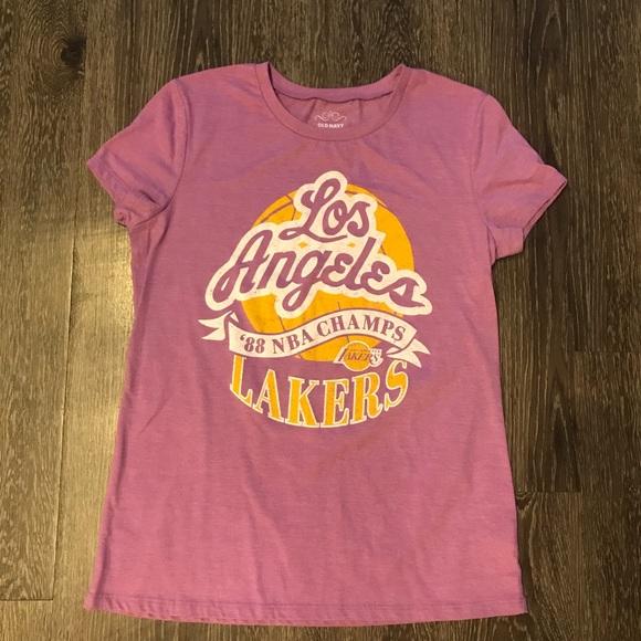 Old Navy Tops - Los Angeles Lakers  88 NBA Champions  Women s Tee 2c533bffbd